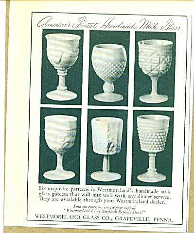 Westmoreland Glass co. ad 1950 (Image1)