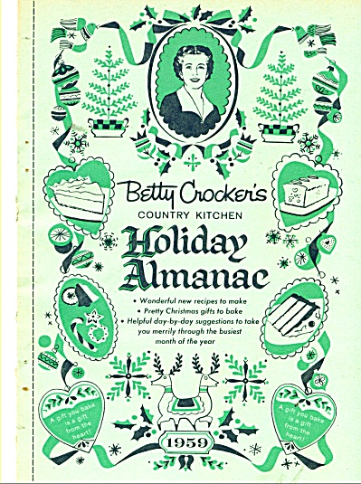 1959 BETTY CROCKER HOLIDAY COOKBOOK - GIFTS (Image1)