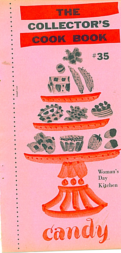 1959 COLLECTOR'S COOK BOOK Woman's Day CANDY (Image1)