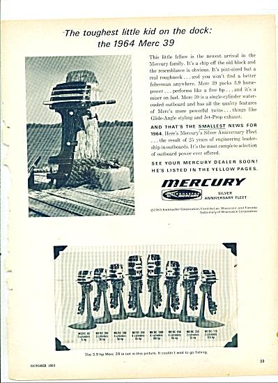 Mercury outboard motors ad 1963 (Image1)