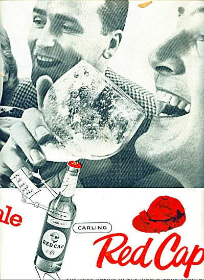 Carling red cap ale ads 1957 (Image1)