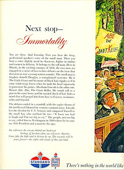 Standard Oil company - Abraham Lincoln debate (Image1)