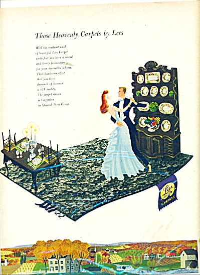 Lees Heavenly Carpets ad 1948 (Image1)