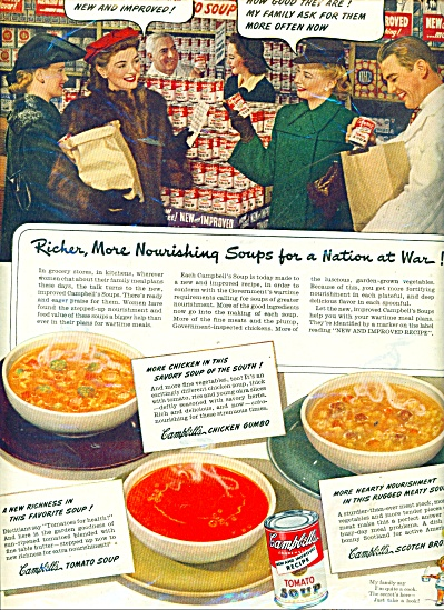Campbell's tomato soup ad 1943 (Image1)