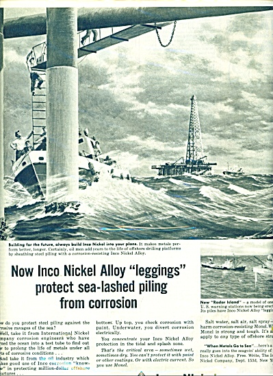 1955 Inco Nickel Alloy AD New Radar Island (Image1)