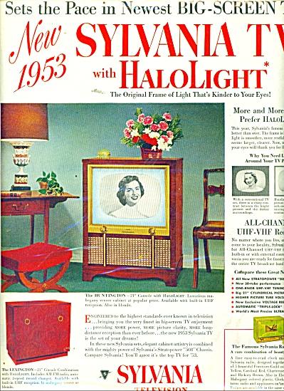 Sylvania Television ad 1952 (Image1)