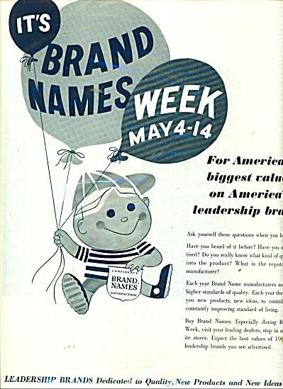 Brand Names ad 1961 (Image1)