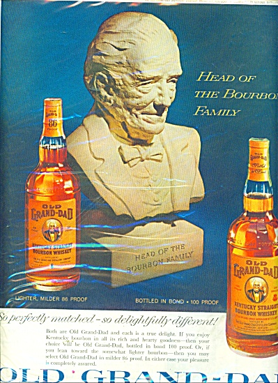 Old  Grand Dad Kentucky bourbon whisky ad (Image1)