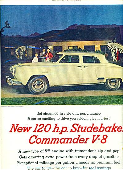 Studebaker commander V-8 ad 1951 COMMANDER (Image1)