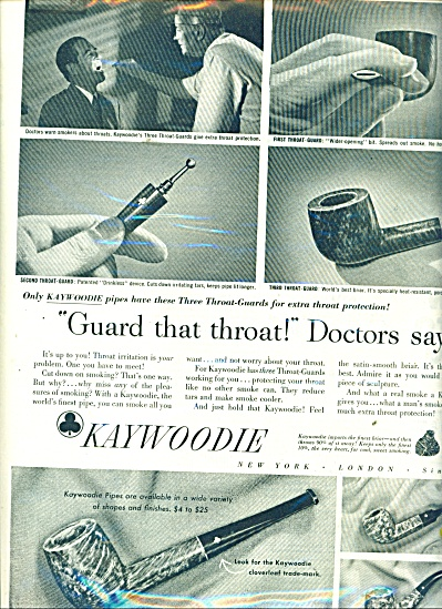 Kaywoodie pipes ad 1951 (Image1)