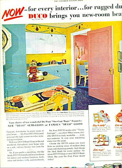 Dupont Paints ad 1951 (Image1)