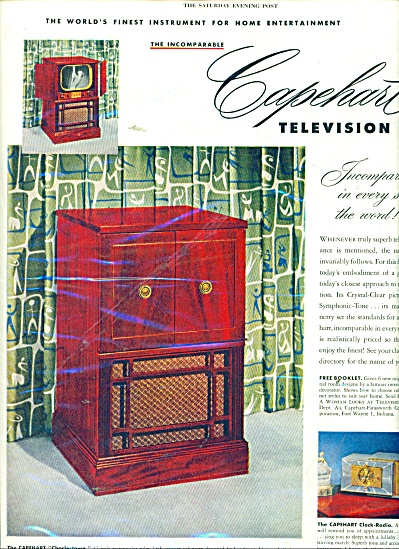 Capehart television ad 1951 (Image1)