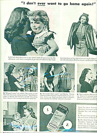 Castoria laxative ad 1945 (Image1)