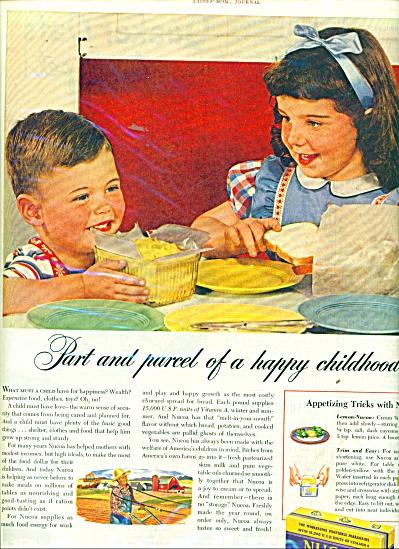 1945 Nucoa OLEO MARGARINE AD Cutest KIDS (Image1)