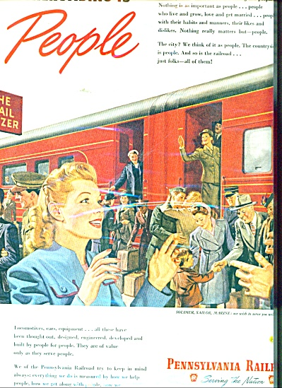 Pennsylvania Railroad ad 1945 ARTWORK (Image1)