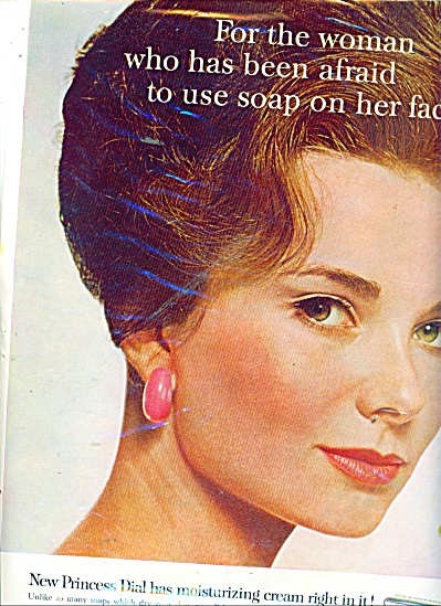 1963 Princess Dial Moisturizing Cream Ad