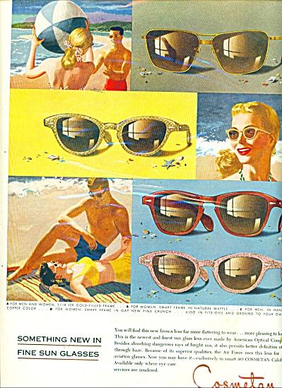 Cosmetan calobar sun glasses ad (Image1)