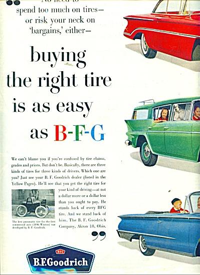 B. F.Goodrich tires ad (Image1)