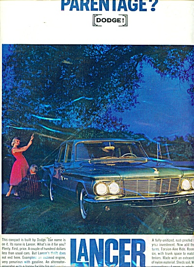 Dodge Lancer ad 1961 (Image1)