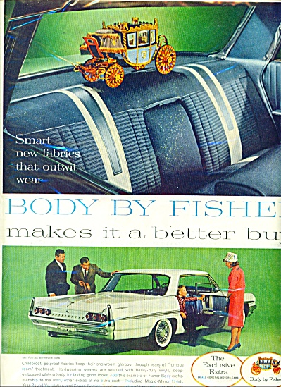 Body by Fisher ad 1961 (Image1)