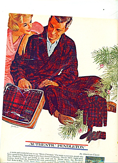 Pendleton woolens ad TED RAND ART (Image1)