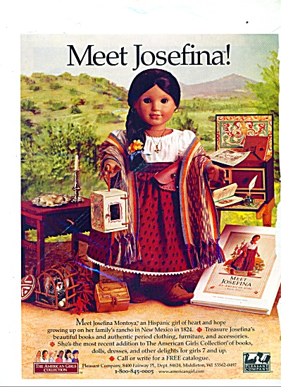 Meet Josefina - American Girls Collection Ad