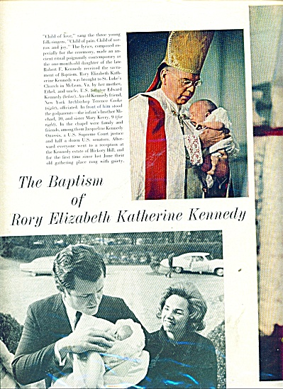 1969 EXPOSE Rory Kennedy Baptism Article (Image1)