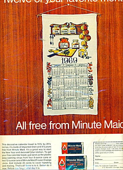 Minute maid orange juice ad (Image1)