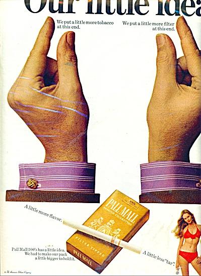 Pall Mall cigarettes ad (Image1)