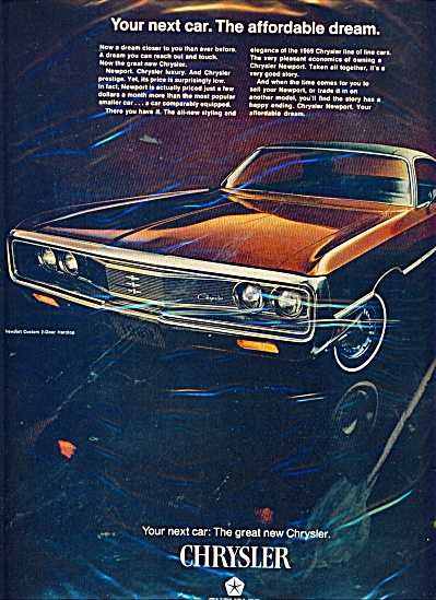 Chrysler Corporation automobile - 1969 (Image1)