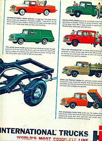 International trucks ad 1962 (Image1)