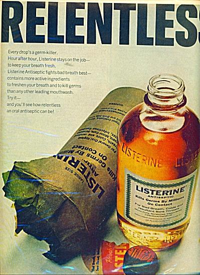 Listerine antiseptic ad 1967 (Image1)
