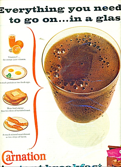 Carnation instant breakfast ad 1967 (Image1)