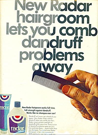 1967 RADAR Hairgroom Comb AD (Image1)