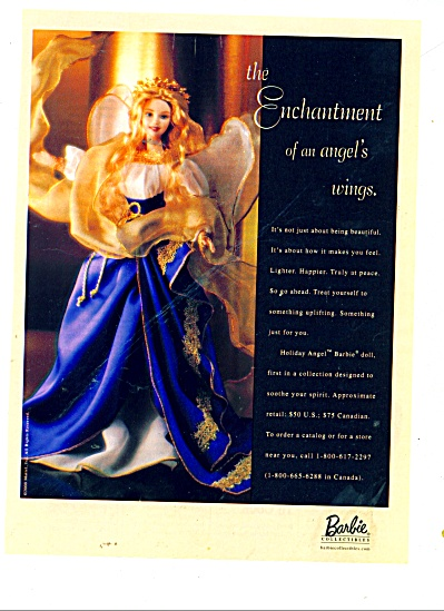 Barbie collectibles - The enchartment ad (Image1)