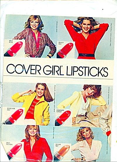 1980 COVER GIRL SIX Models AD (Image1)