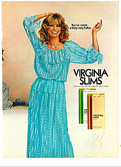 Virginia slims ad - CHERYL TIEGS - AD (Image1)