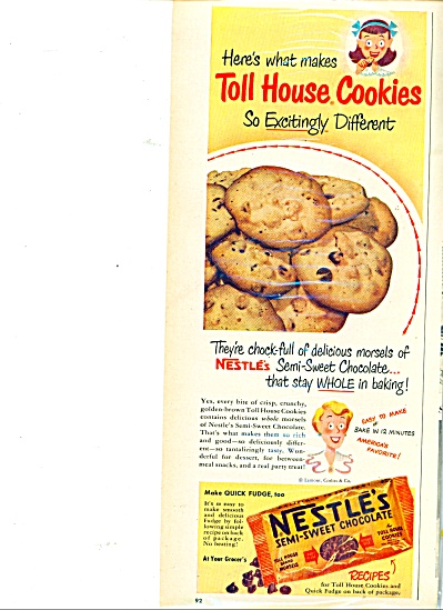 Nestle's semi sweet chocolate ad (Image1)