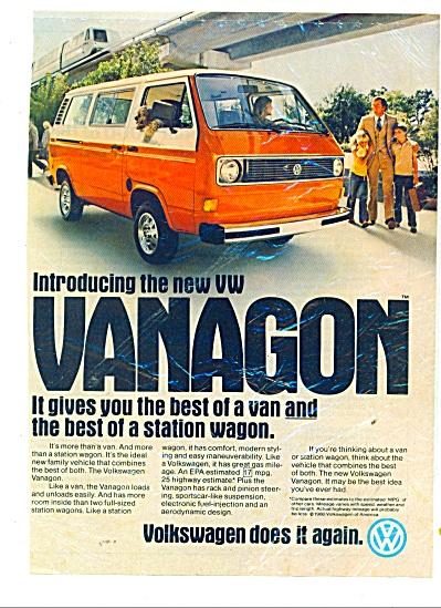 Vanagon by Volkswagen ad (Image1)