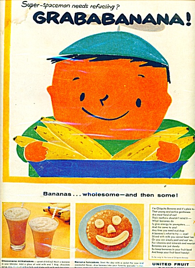 United Fruit company - Grababanana ad 1959 (Image1)