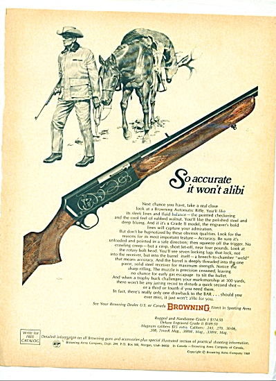 Browning rifles ad 1969 (Image1)