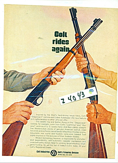 Winchester rifles ad (Image1)