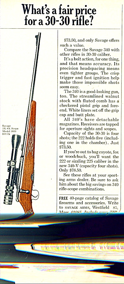 Savage arms ad 1967 (Image1)