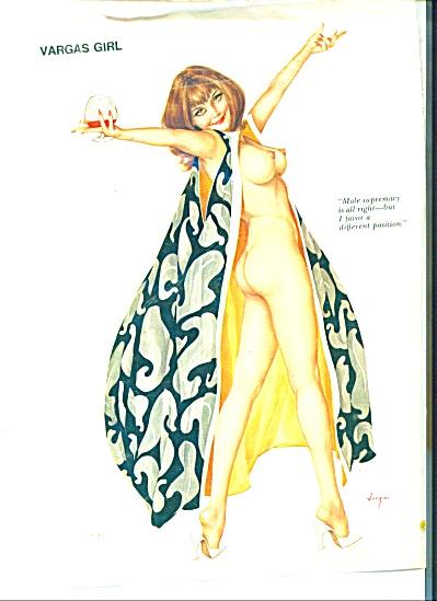 VINTAGE VARGAS Girl picture ad (Image1)