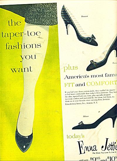 Enna Jetticks shoes ad 1957 (Image1)