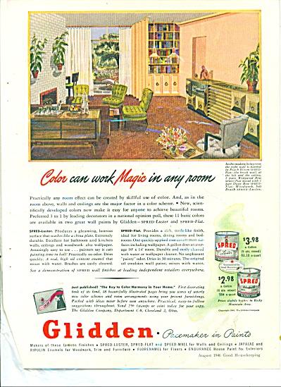 Glidden paints ad 1946 (Image1)