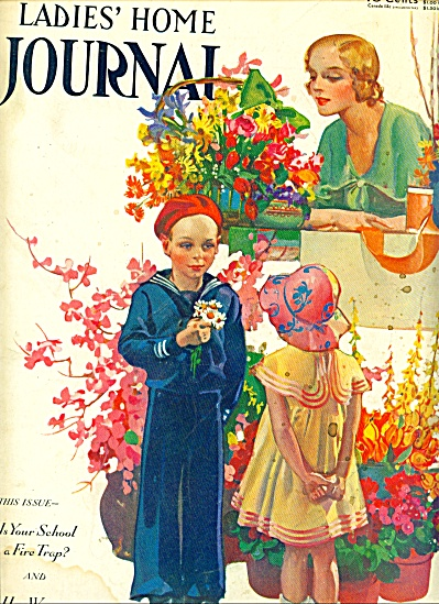 1932 Ladies Home Journal Cover ACKSON ART (Image1)