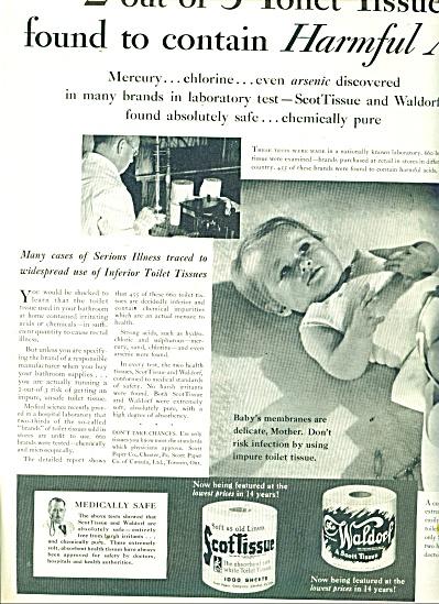 1932 Scot Tissue - Waldorf AD NO MERCURY (Image1)