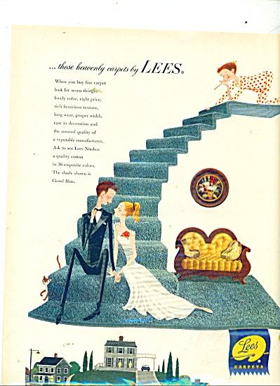 Lees Carpets ad 1953 (Image1)