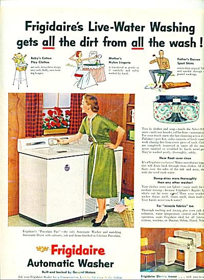 Frigidaire automatic washer ad (Image1)